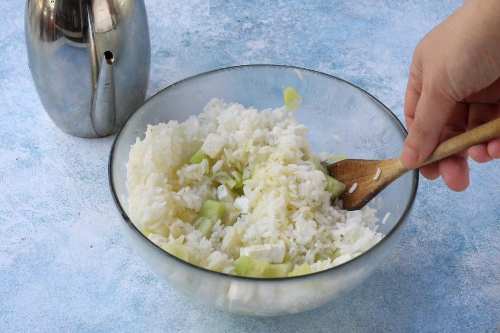 condire il riso