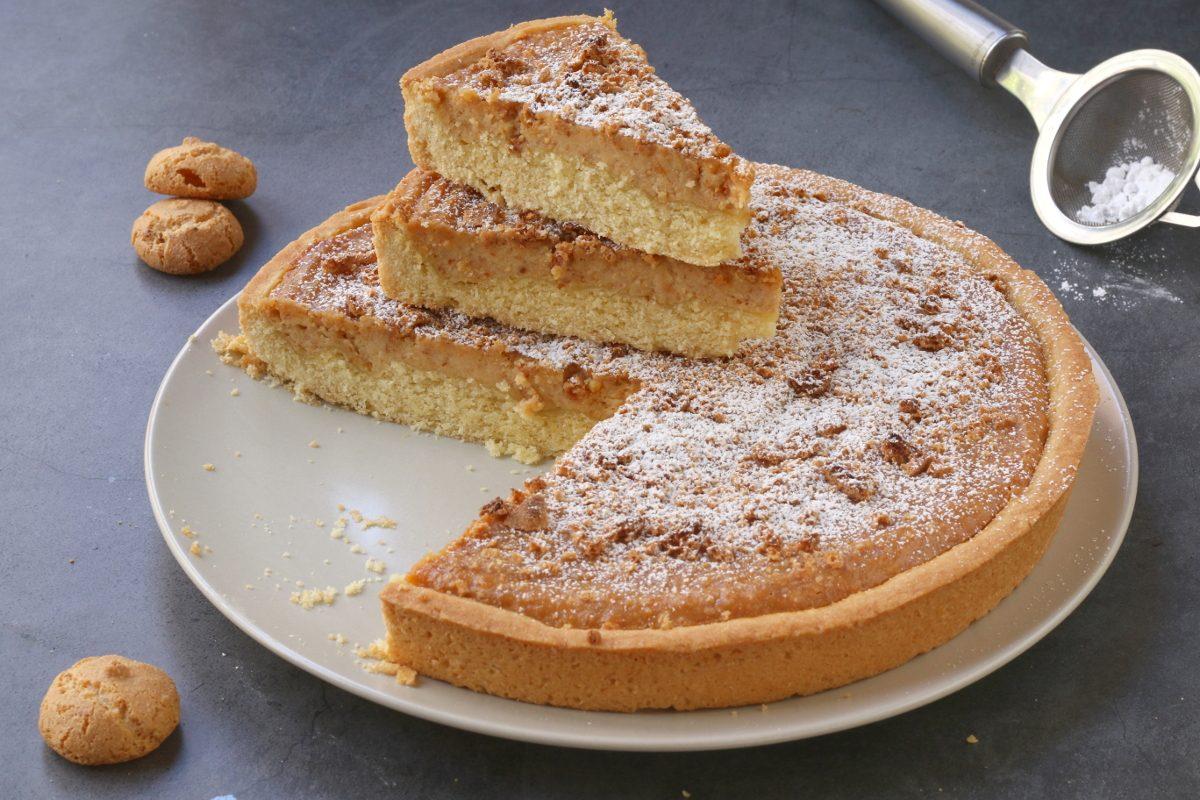 Torta ricotta e amaretti: la ricetta del dolce cremoso e fragrante