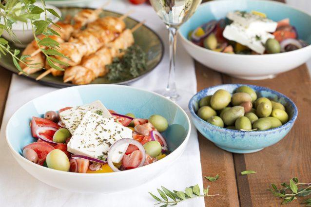 apertura cucina greca