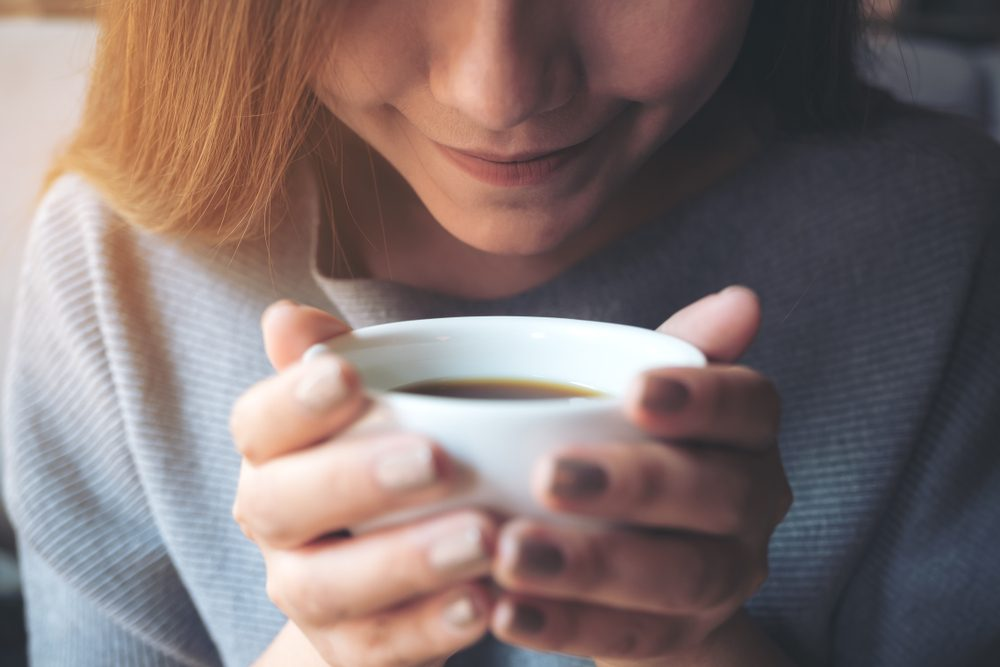 L'aroma del caffè stimola anche chi non lo beve