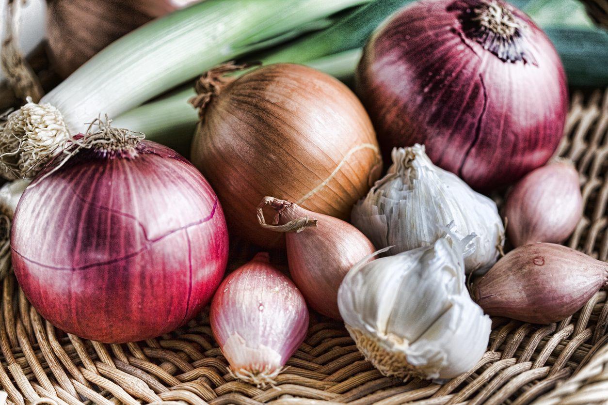 Come conservare aglio e cipolla per farli durare a lungo