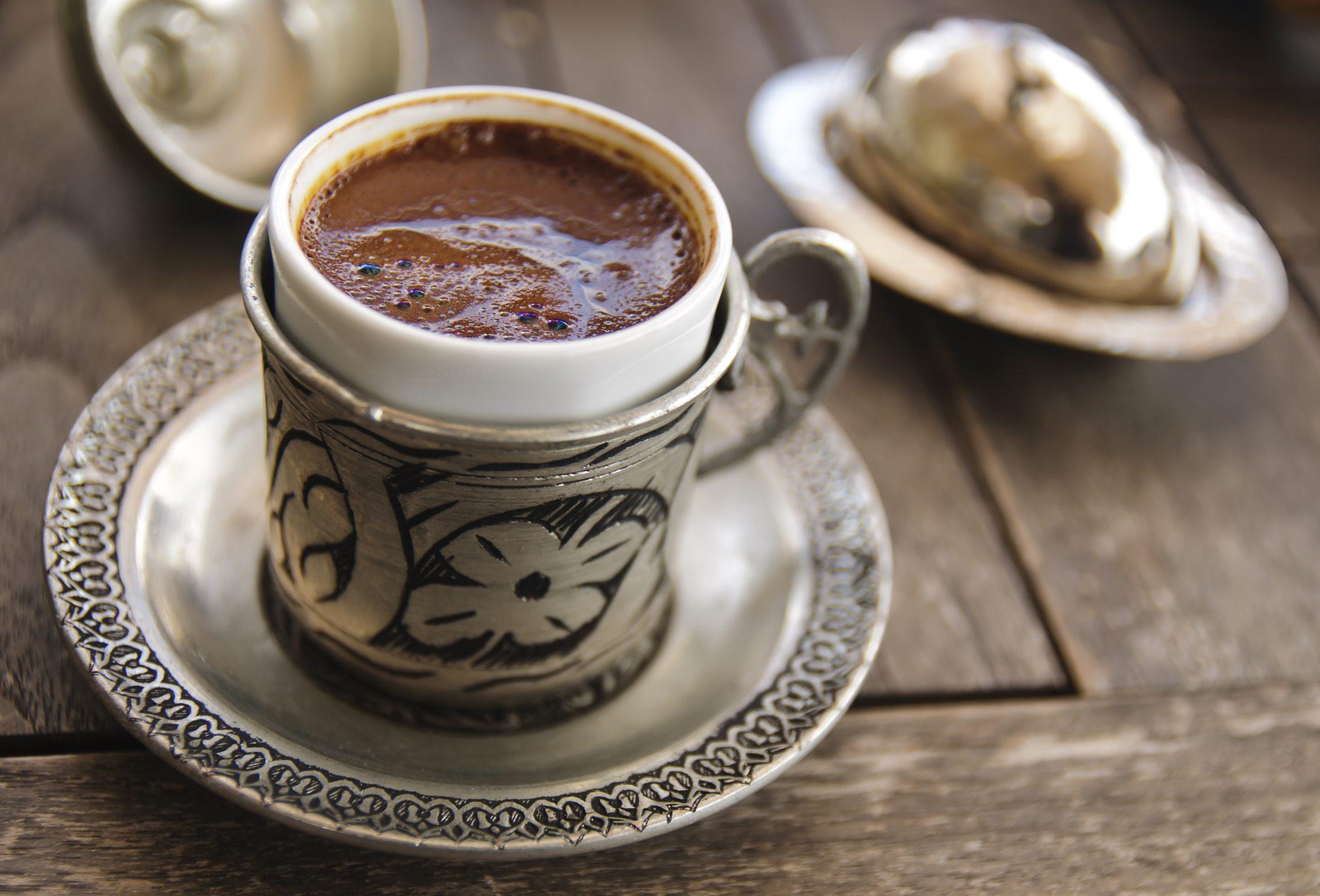 Come si beve il caffè nel mondo, turchia