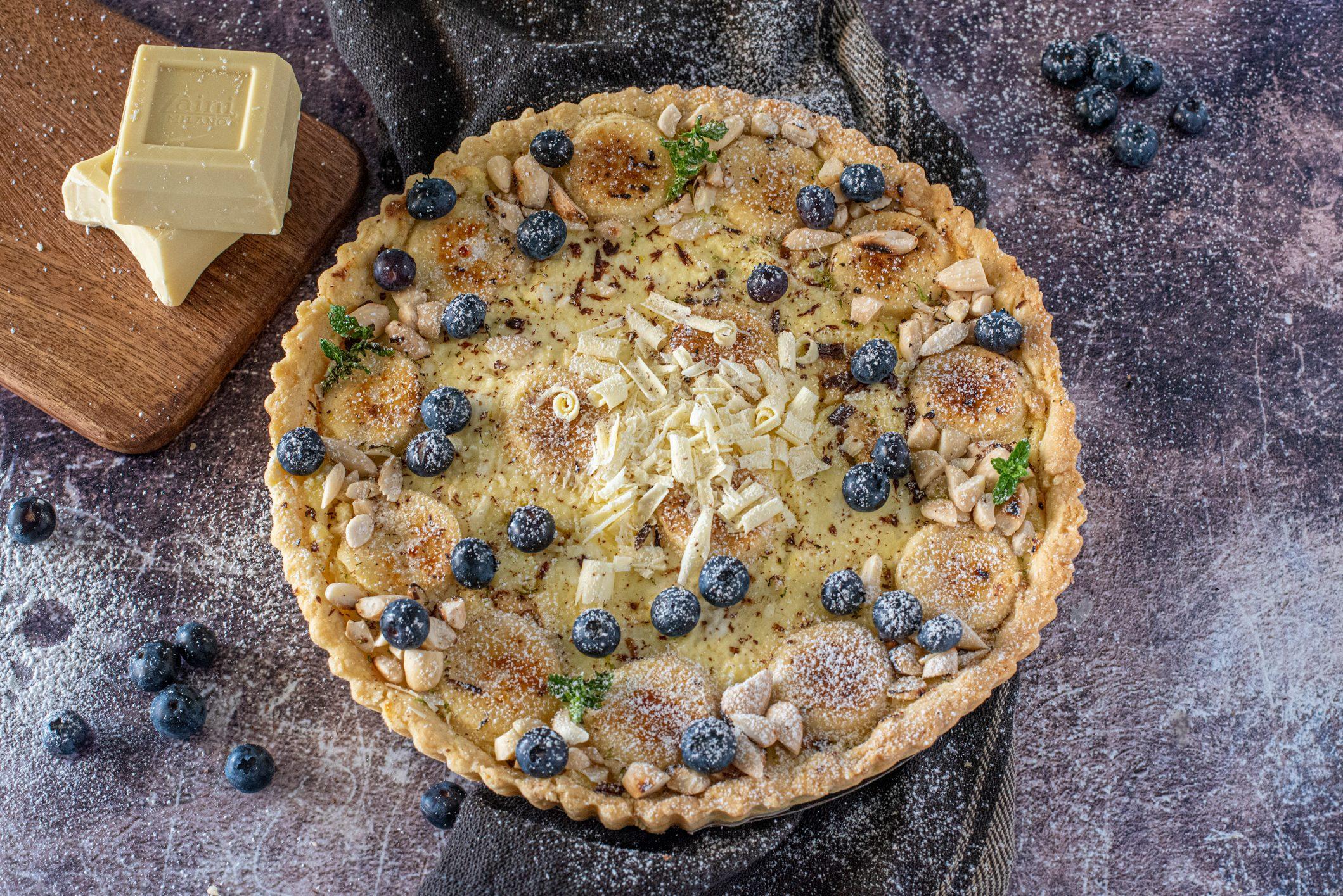 Crostata ricotta e cioccolato bianco: la ricetta del dolce semplice e di sicuro successo