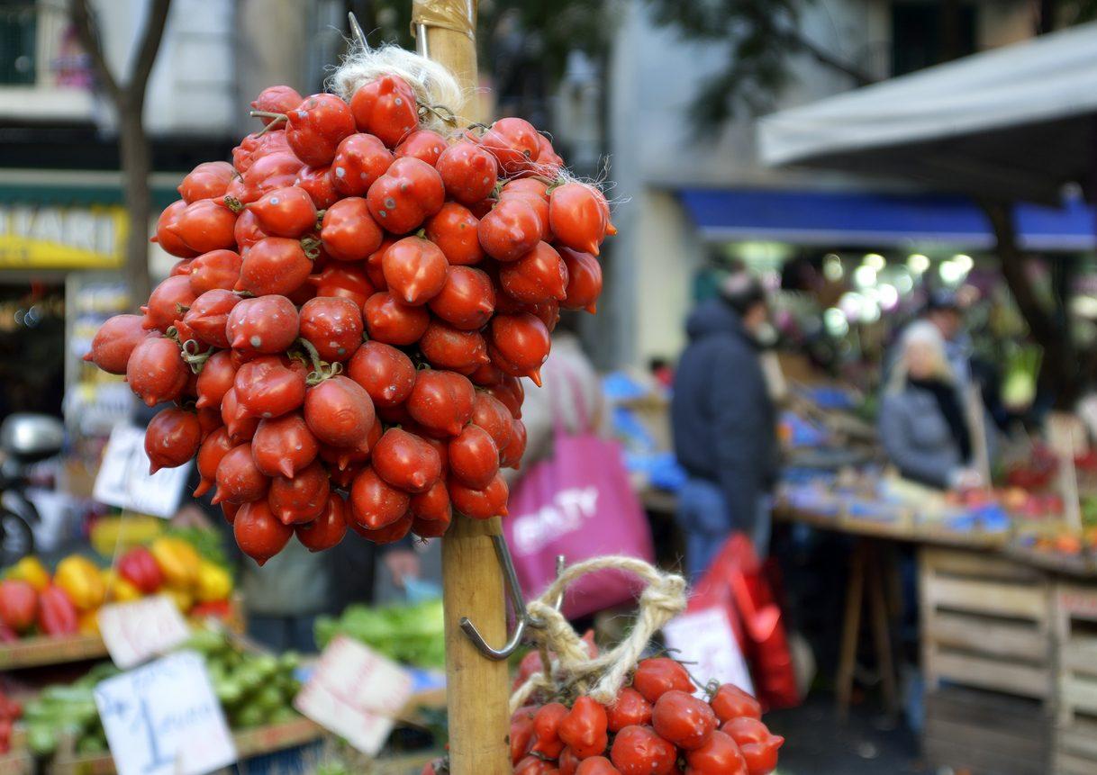 Il pomodoro del piennolo del Vesuvio