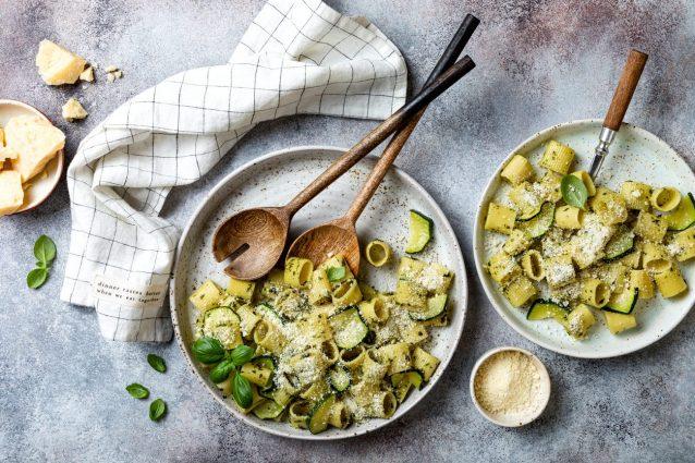 Primi piatti facili e veloci con le zucchine
