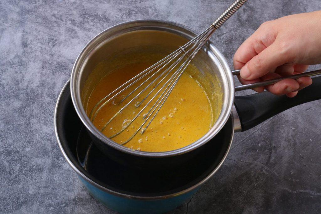 cuocere lo zabaione