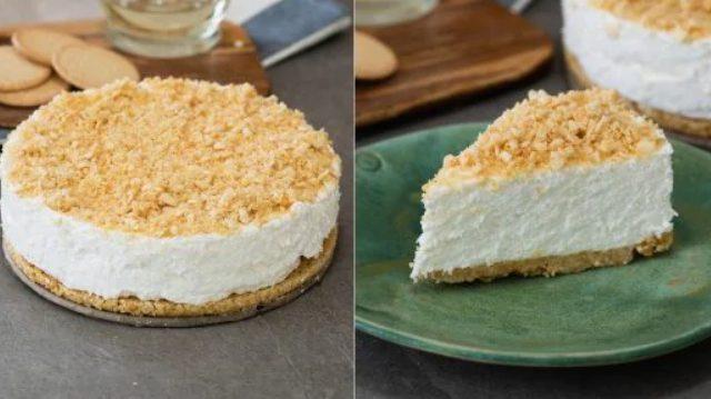 Cheesecake paradiso: la ricetta della torta fredda sbriciolata senza cottura