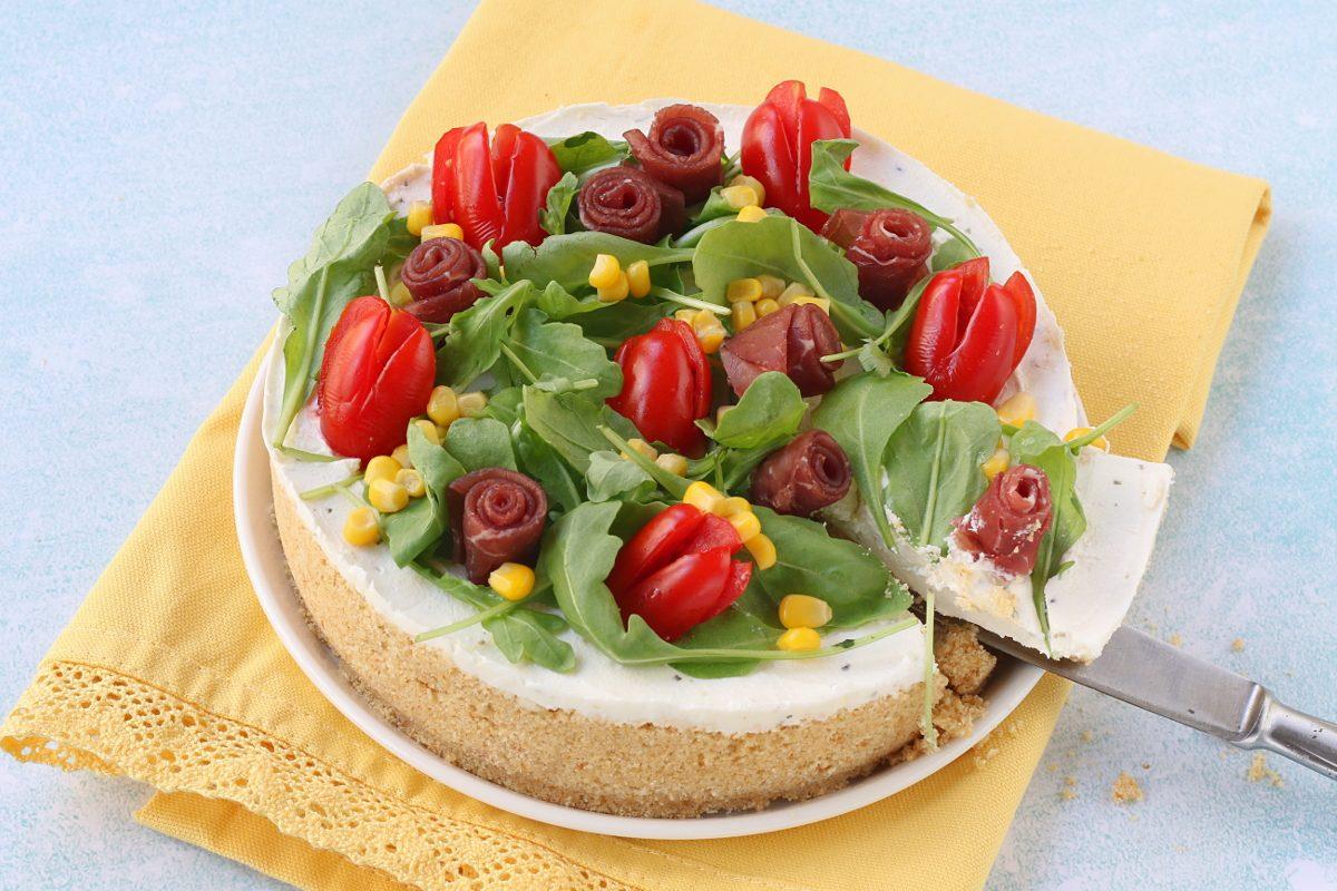 servire la cheesecake