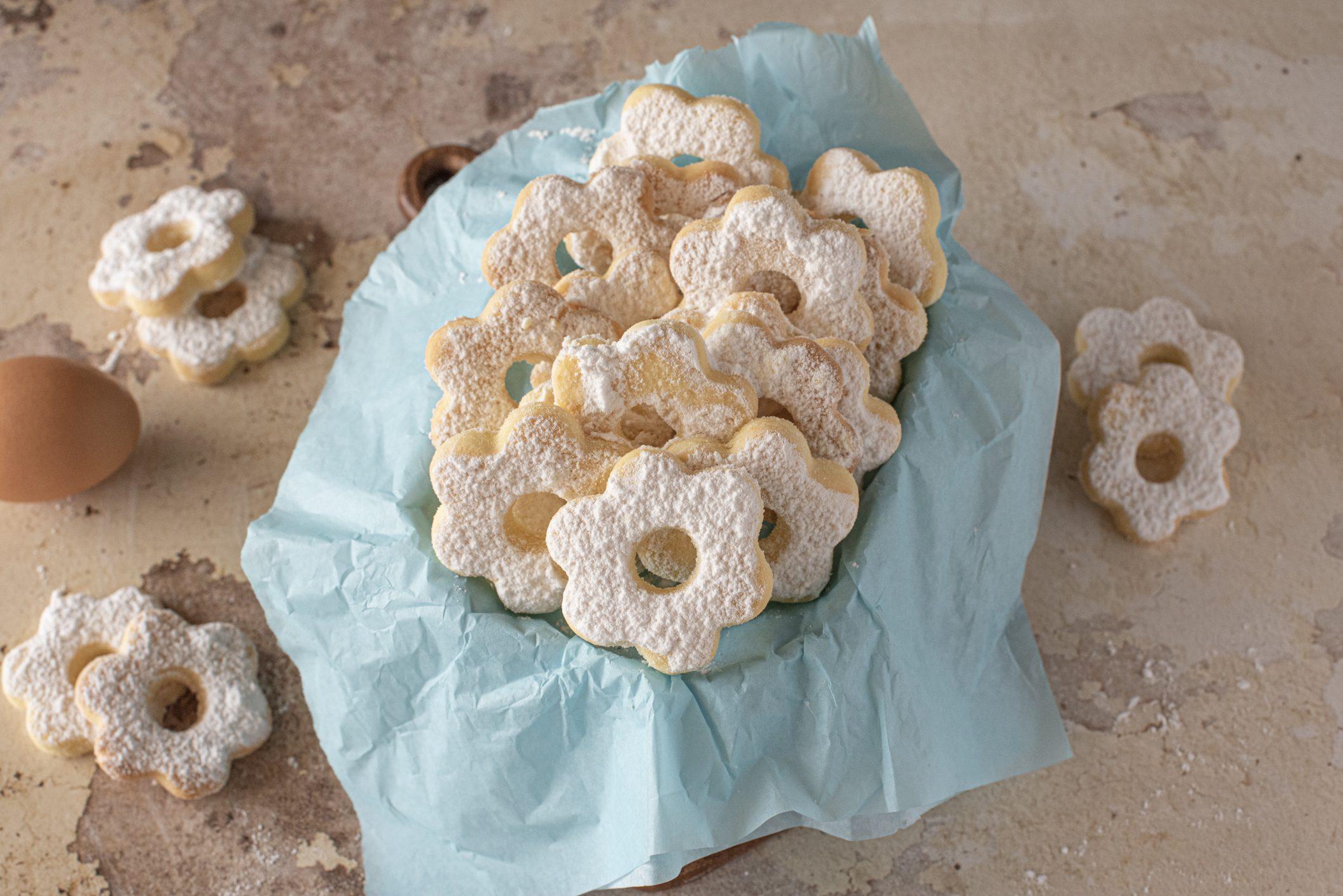 Margheritine di Stresa: la ricetta dei biscotti piemontesi friabili e golosi