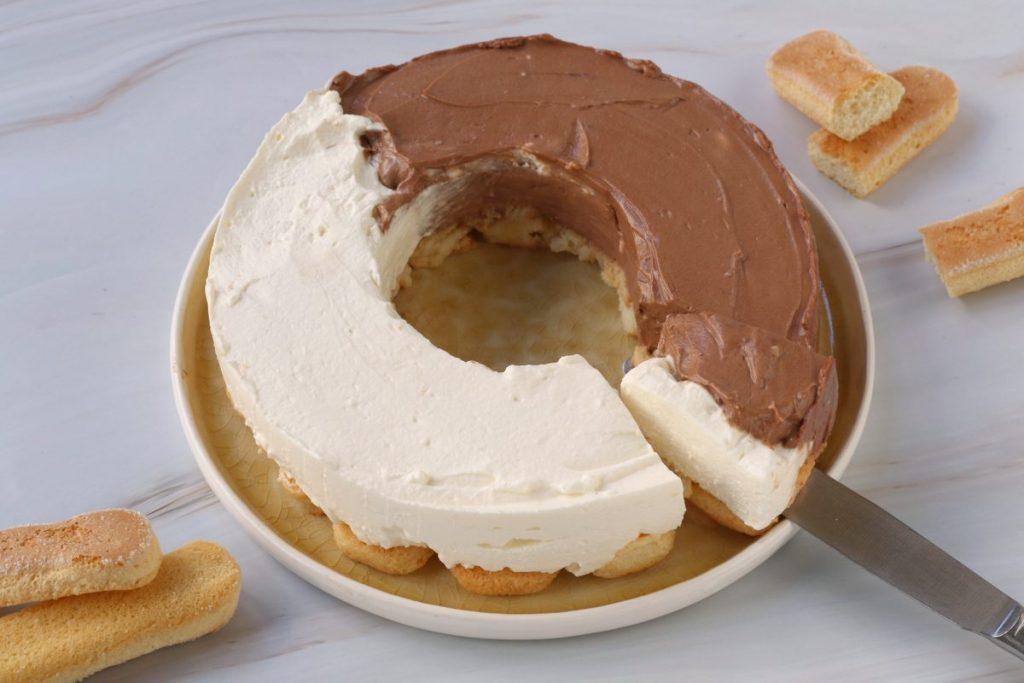 Servire la torta fredda