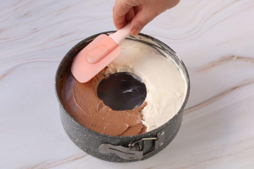 aggiungete la crema al gianduia