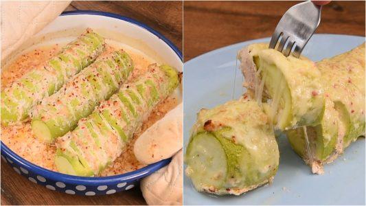 Zucchine ripiene di pollo: la ricetta del secondo piatto leggero e saporito