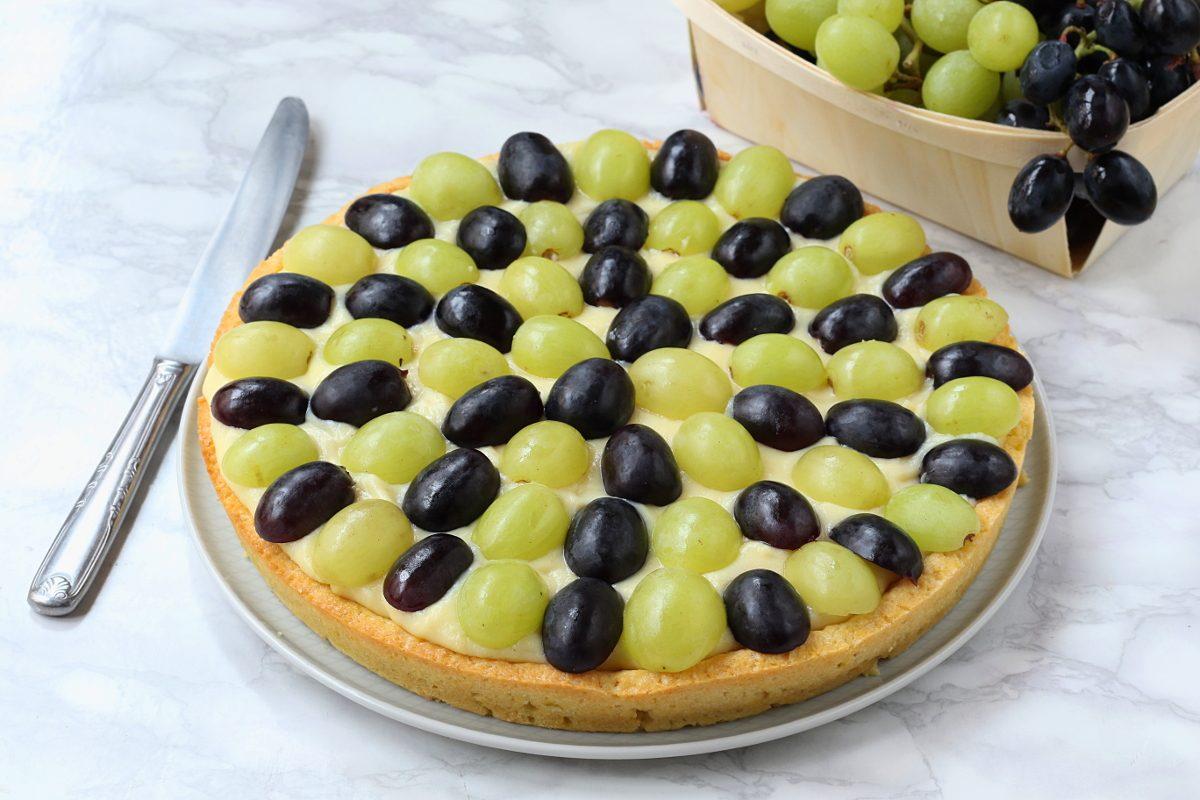 Crostata di uva: la ricetta del dolce autunnale semplice e irresistibile
