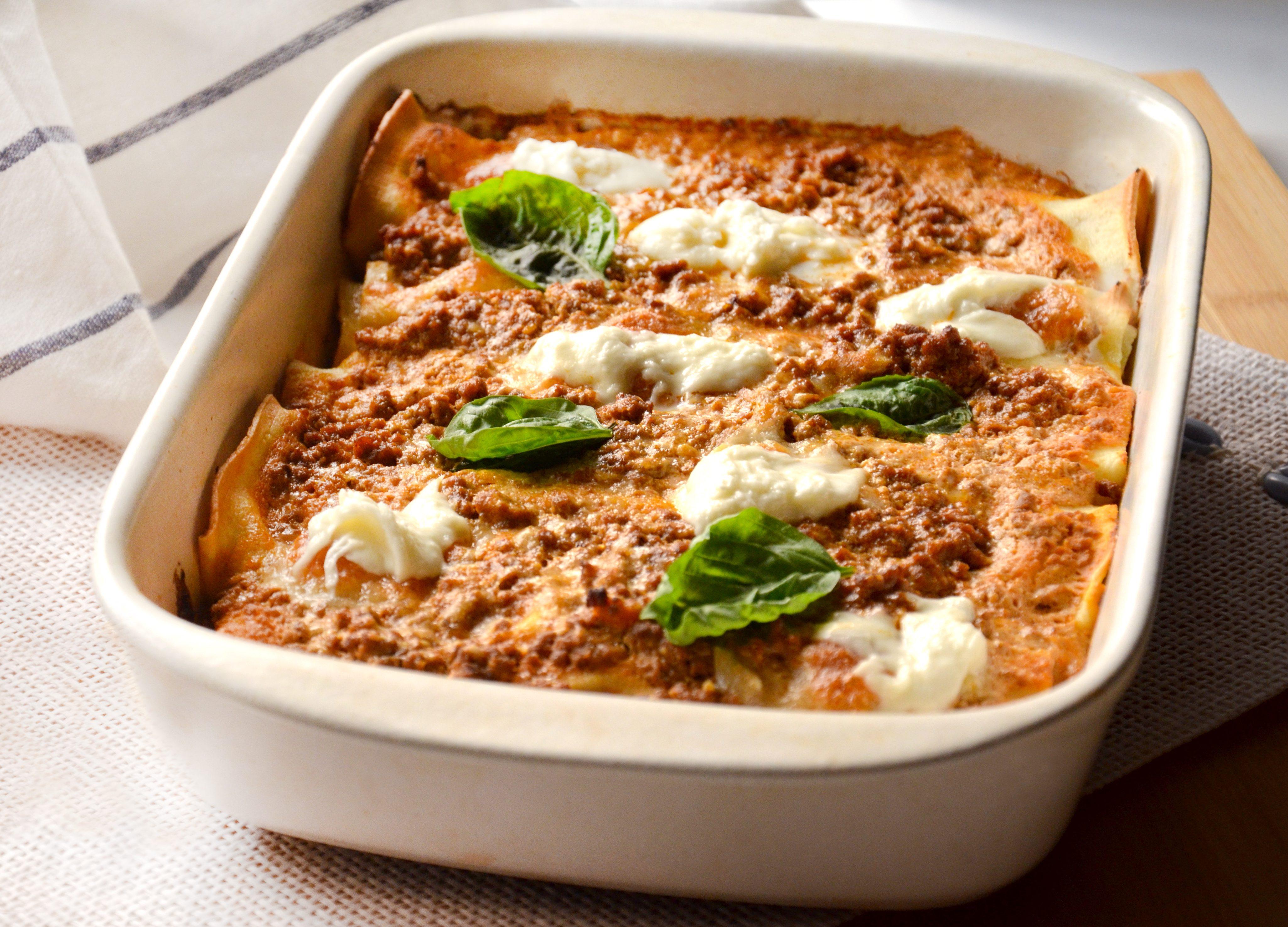 Cannelloni alla sorrentina: la ricetta del piatto tipico della cucina campana