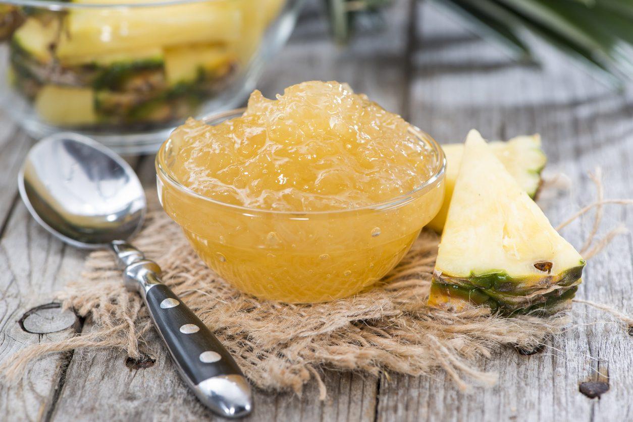 Marmellata di ananas: la ricetta della conserva esotica e deliziosa