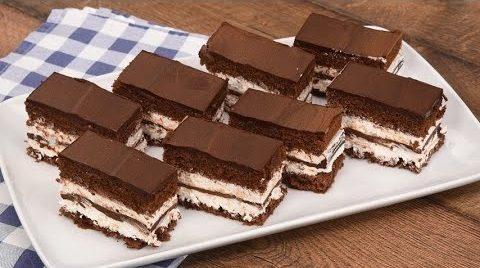 Merendine al cioccolato: la ricetta dei dolcetti golosi con crema alla panna e cioccolato