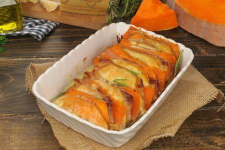Millefoglie di zucca: la ricetta della pietanza ricca con provola affumicata e pancetta