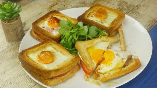 Toast con uovo: la ricetta del sandwich semplice e gustoso cotto al forno