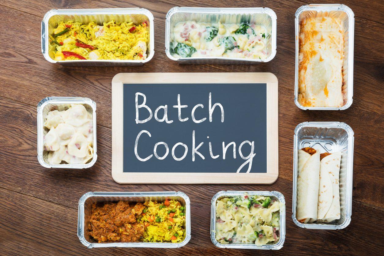 Batch cooking: il metodo vincente per organizzare i pasti e mangiare correttamente