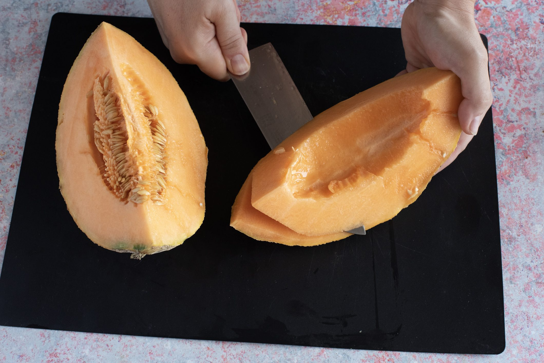 bavarese al melone