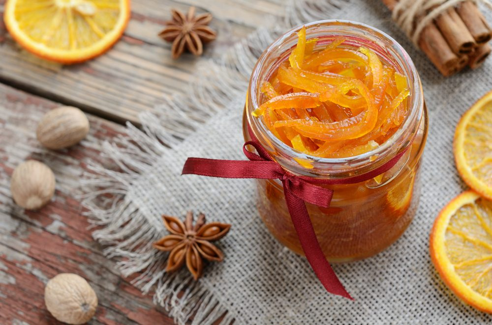 Cucinare con gli scarti: scorze di arance candite