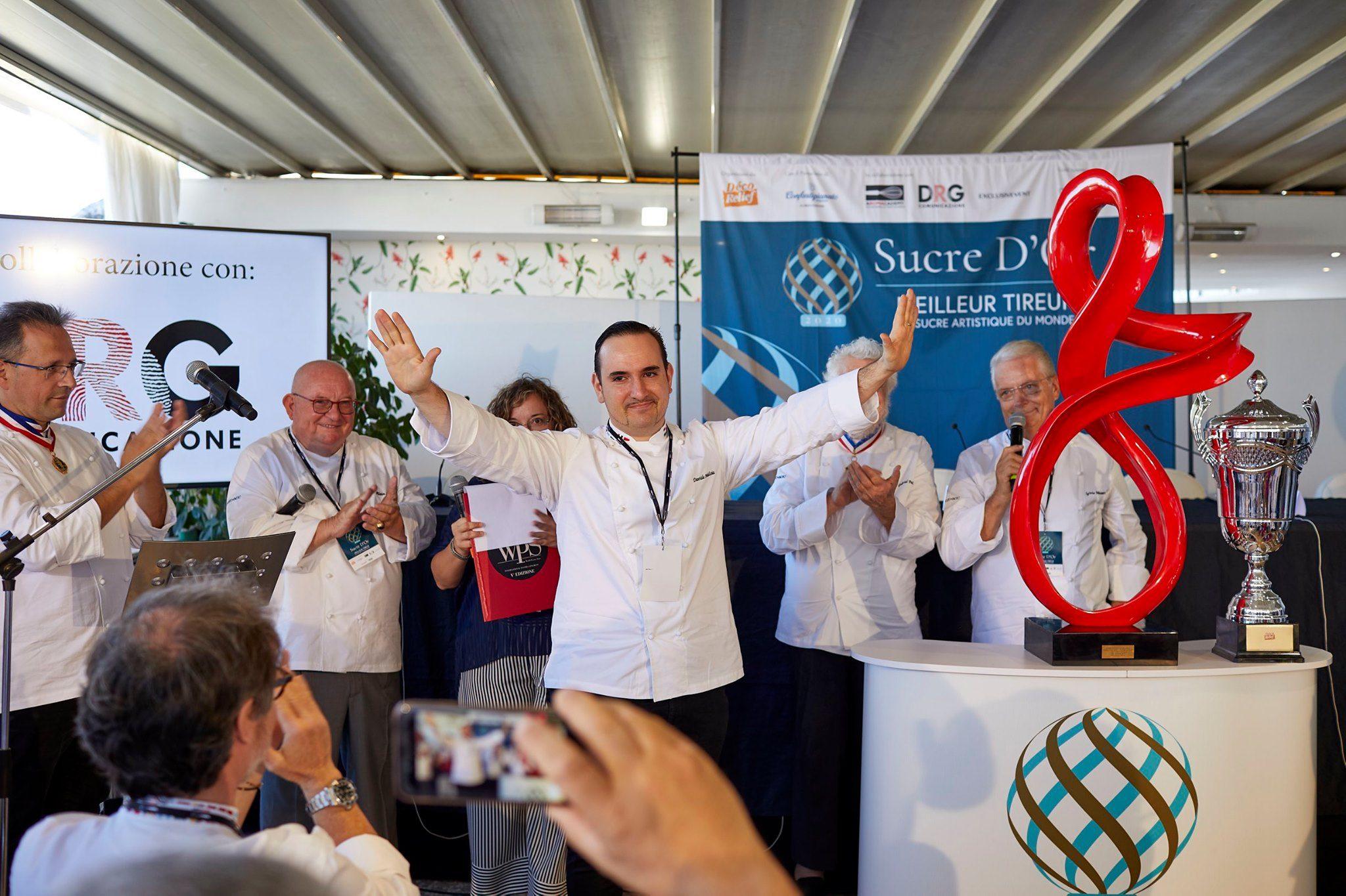Un italiano vince uno dei premi più importanti nel mondo della pasticceria