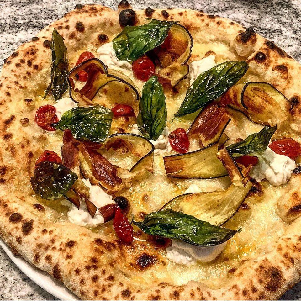 La pizza di Francesco Calò a Vienna