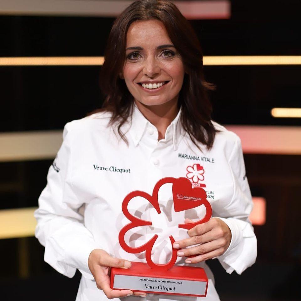 Marianna Vitale è la miglior chef donna per la Michelin: la storia e l'impegno nel sociale
