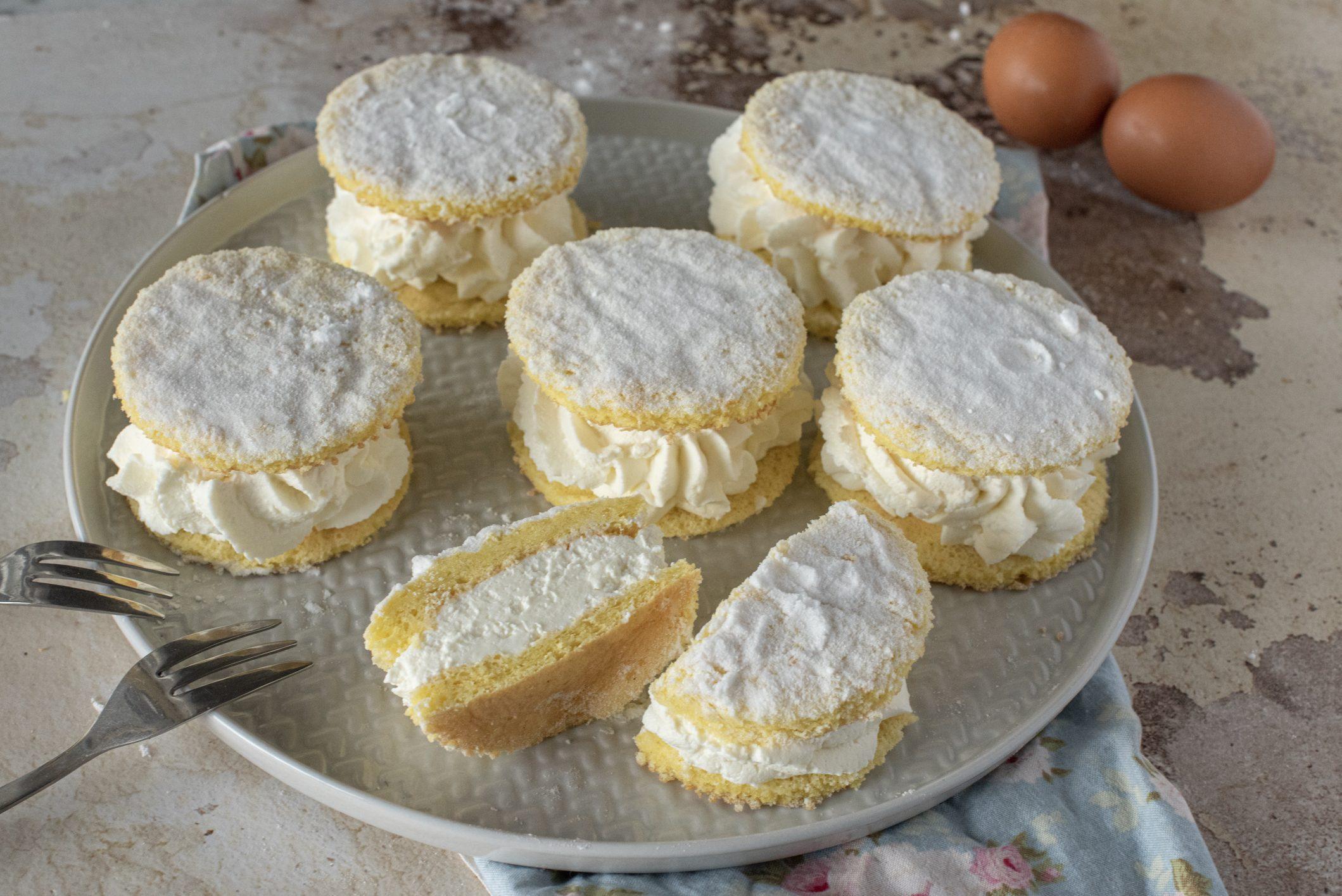 Mini torte paradiso: la ricetta del dolce semplice e irresistibile