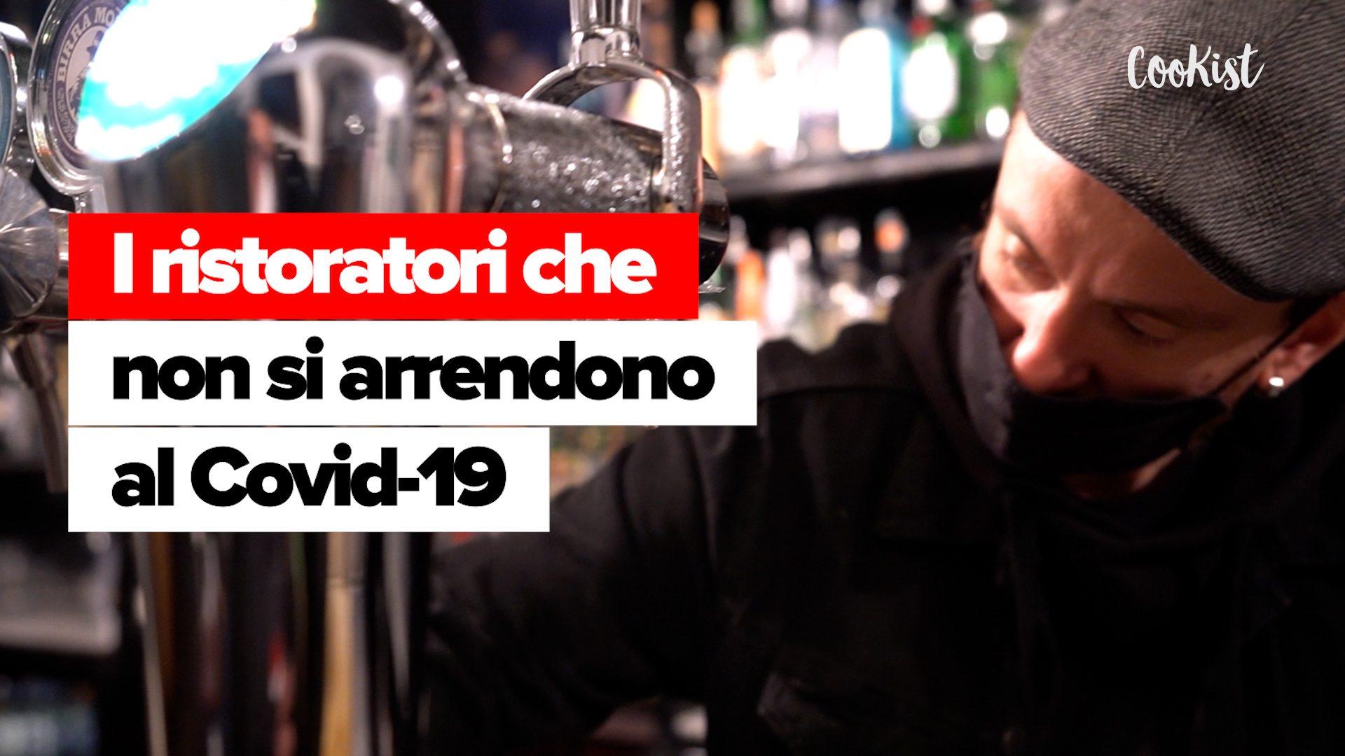 """La birra scorre sulle piazze, la protesta dei ristoratori a Roma: """"Noi non ci arrendiamo"""""""