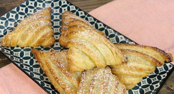 Sfogliatelle con crema e amarene: la ricetta dei dolcetti facili e golosi