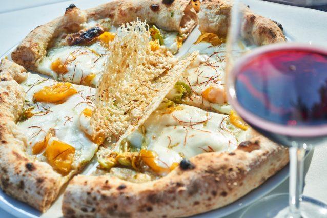 La pizza dell'anno di Villa Giovanna