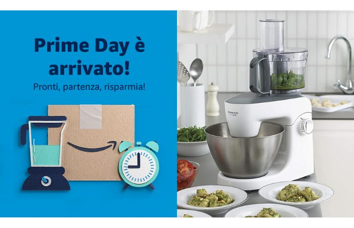 Amazon Prime Day: le migliori offerte di oggi su prodotti per cucina