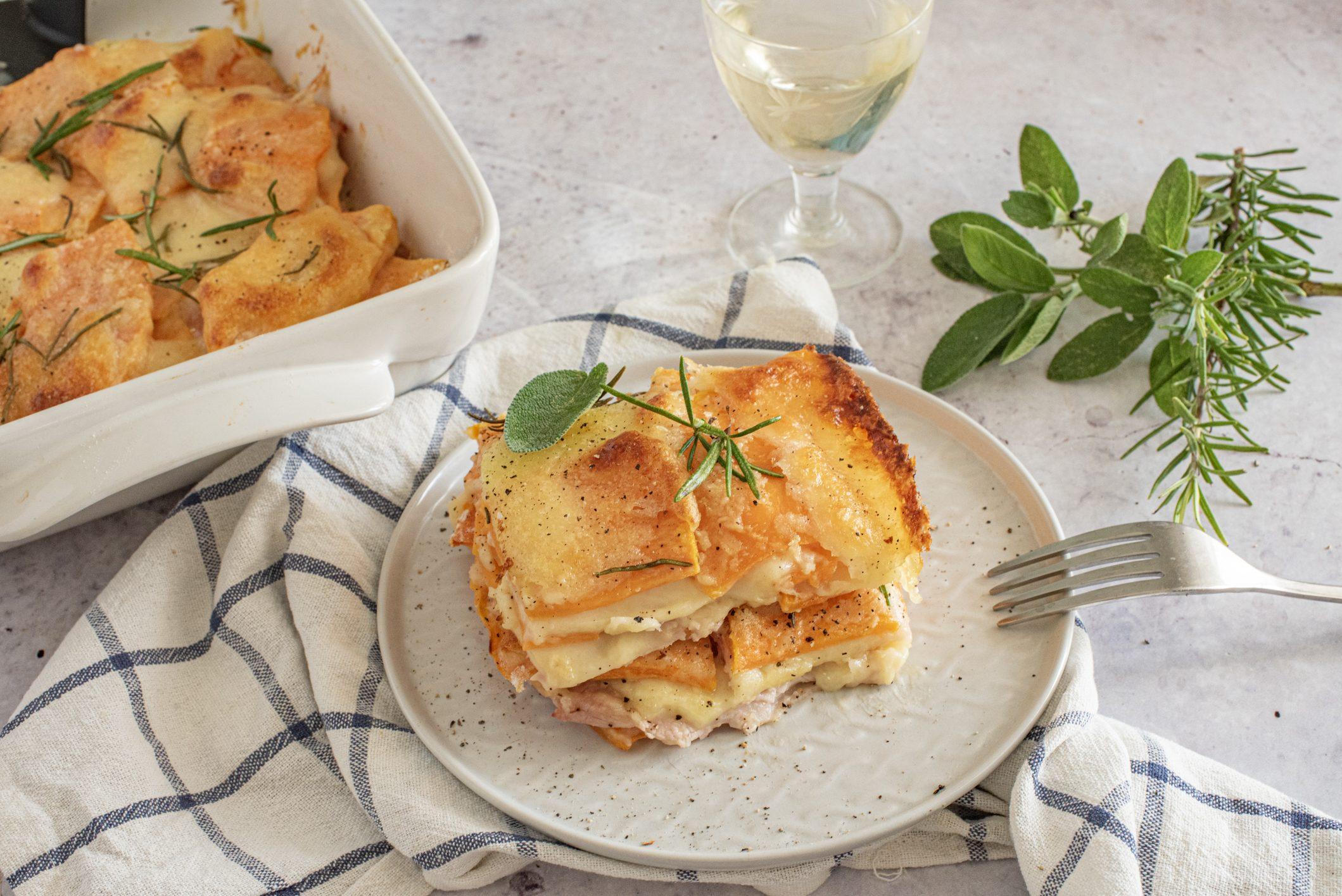 Parmigiana di zucca furba: la ricetta del piatto gustoso e filante