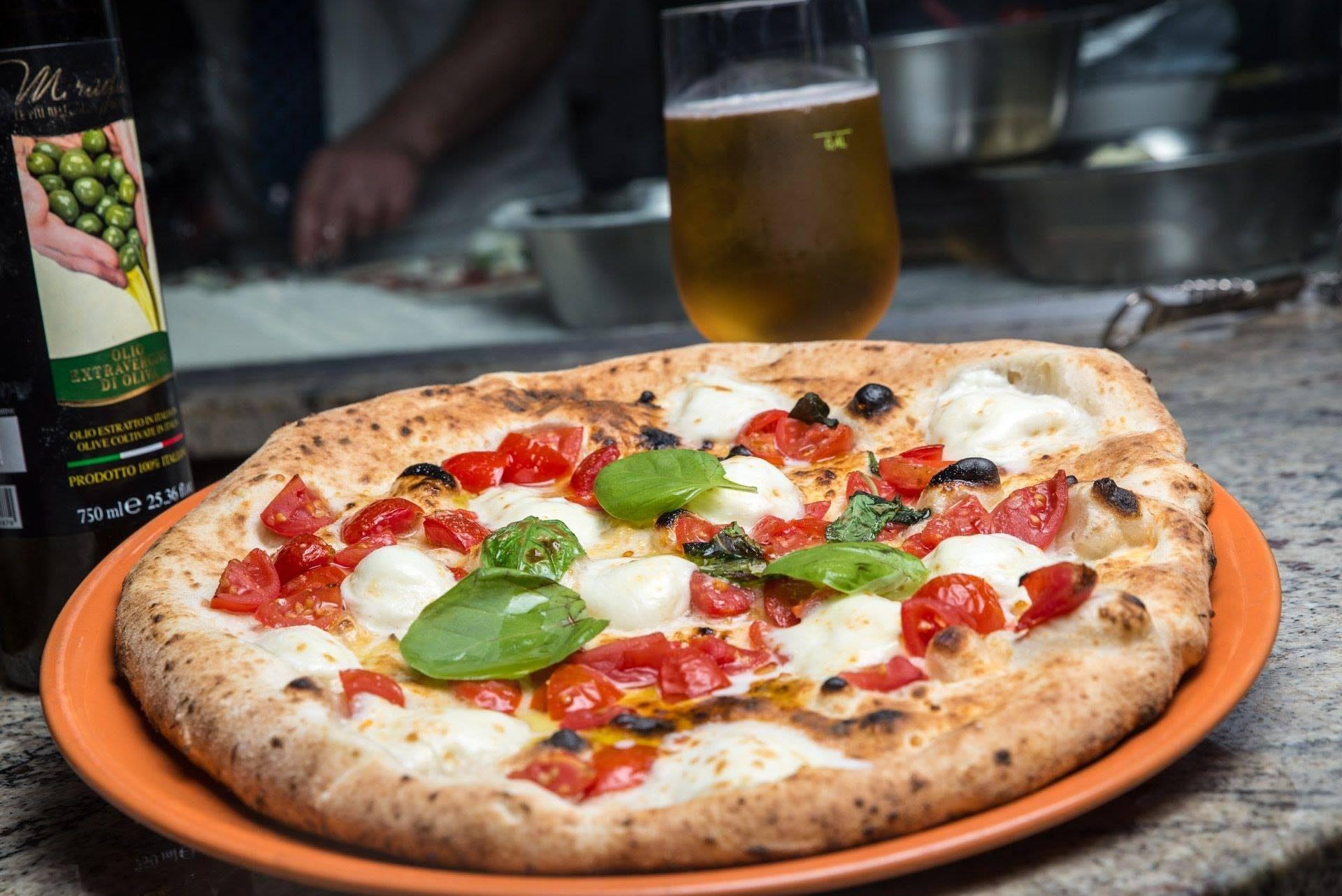 La Margherita a Filetto della Pizzeria da Gennaro a Secondigliano