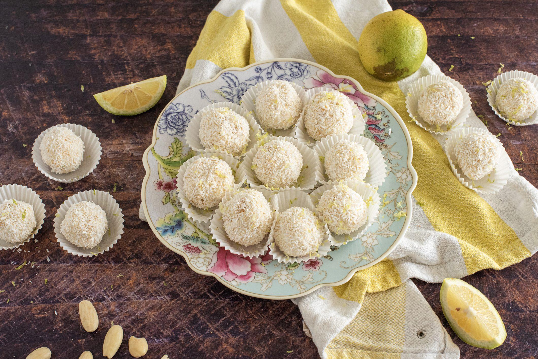 Tartufini al limone senza cottura: la ricetta del dessert semplice e super goloso