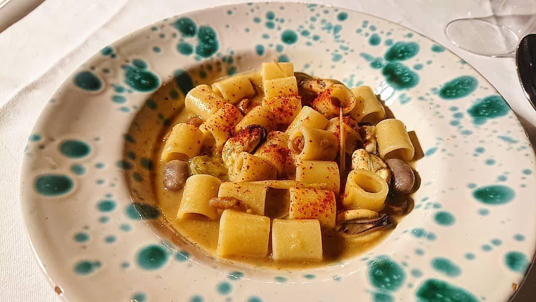 Pasta e fagioli con le cozze di Peppe Guida