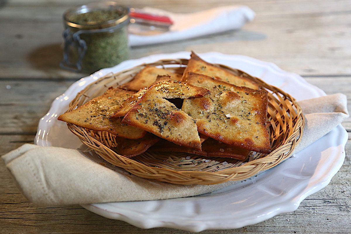 Sfoglie di pane alle patate: la ricetta dello sfizio croccante e irresistibile