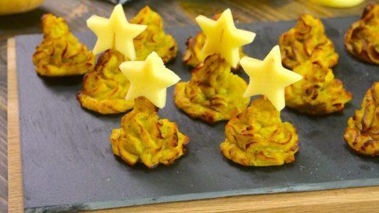 Alberelli di patate: la ricetta dell'antipasto natalizio semplice e saporito