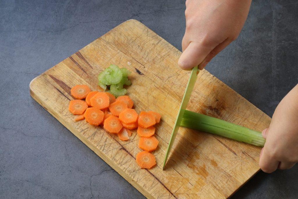 preparare le verdure