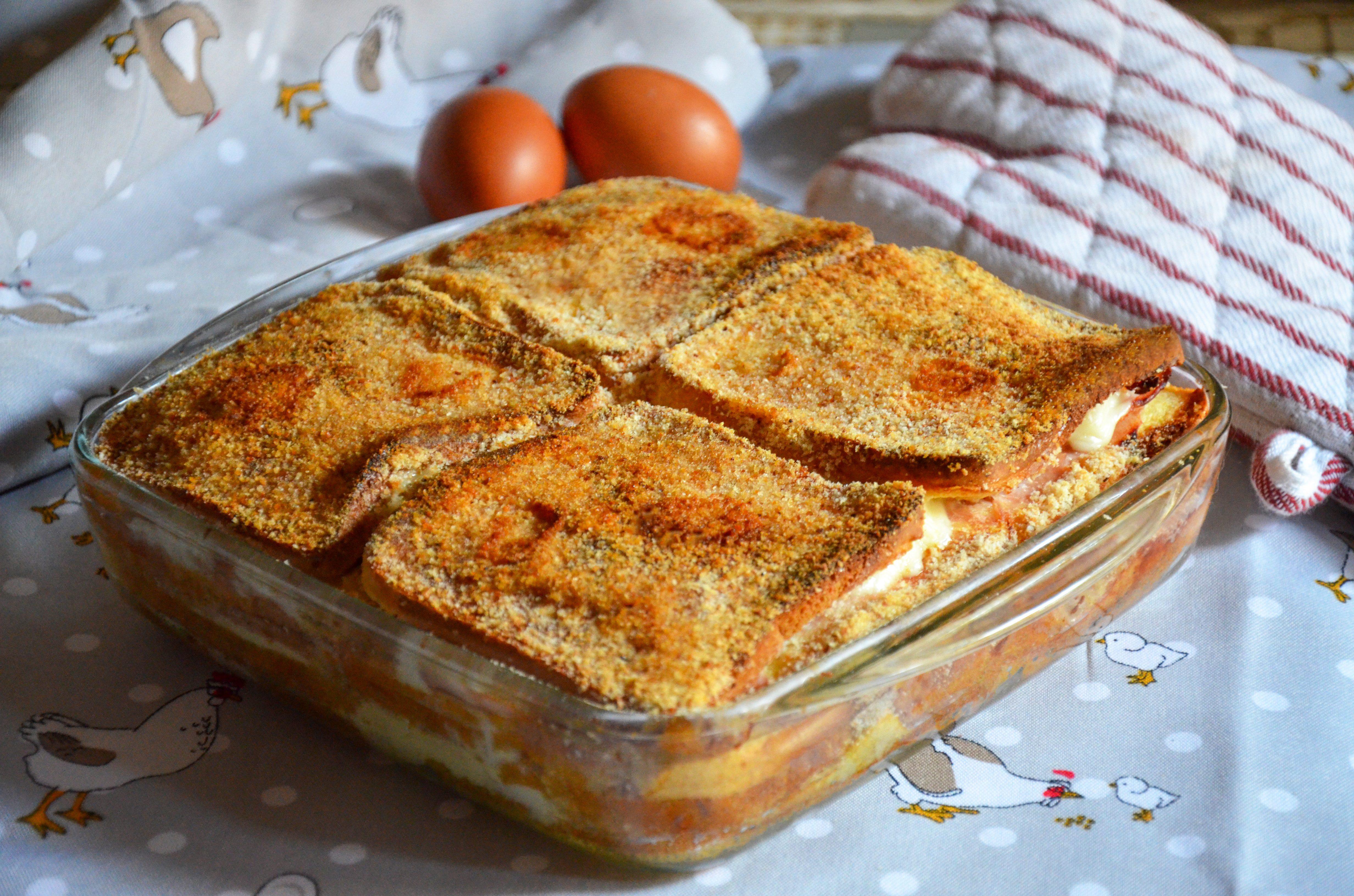 Parmigiana di pancarré: la ricetta del piatto goloso e super filante