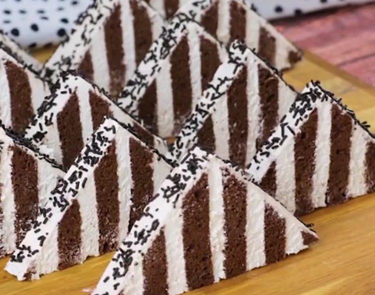 Piramidi di cioccolato: la ricetta del dessert goloso e scenografico