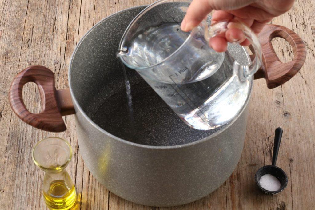 bollire l'acqua