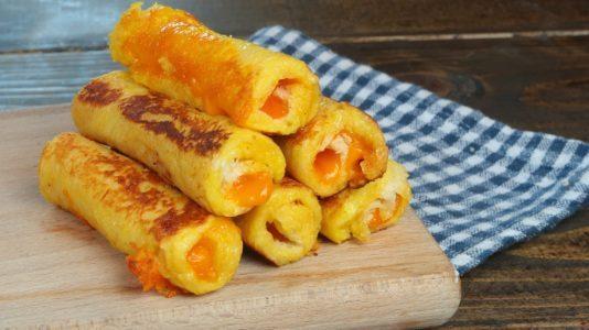 Rotolini di cheddar: la ricetta dei rotolini al formaggio cheddar veloci e gustosi