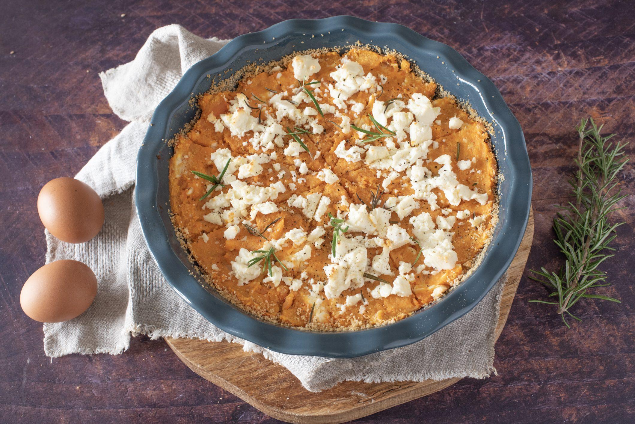 Sformato di patate dolci e feta: la ricetta del piatto dell'autunno semplice e gustoso