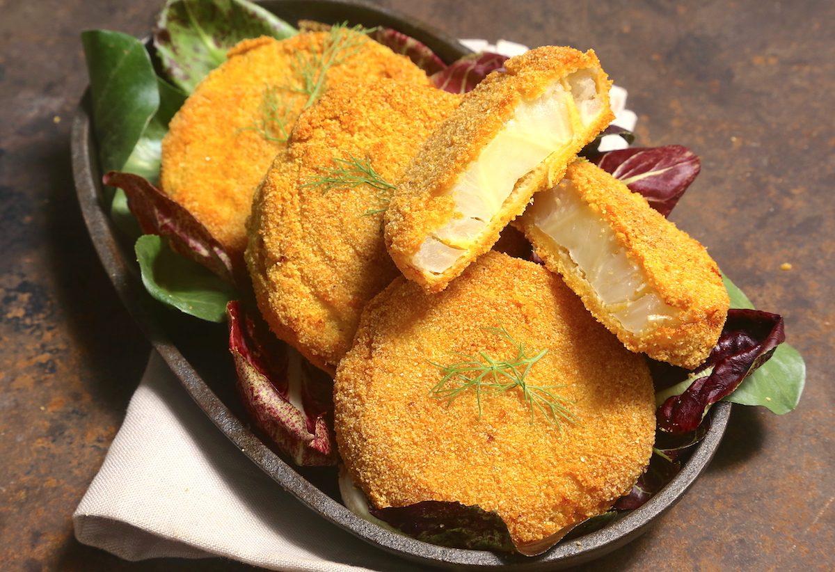 Cotolette di finocchi al forno: la ricetta del contorno leggero e super croccante