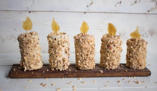 Candele dolci di Natale: la ricetta del dessert goloso e scenografico
