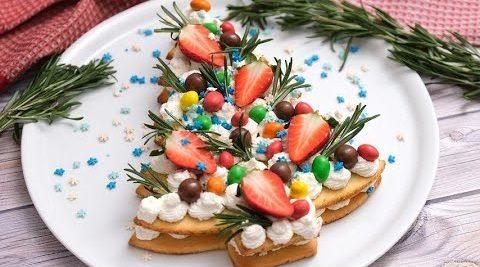 Cream tart albero di Natale: la ricetta della torta natalizia raffinata e scenografica