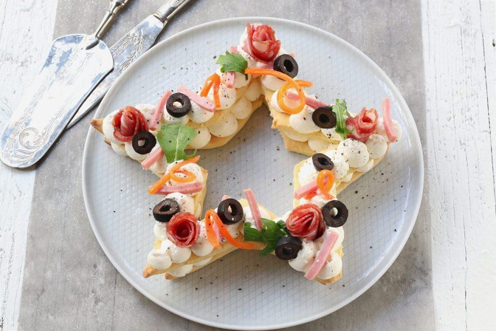 servire la cream tart salata