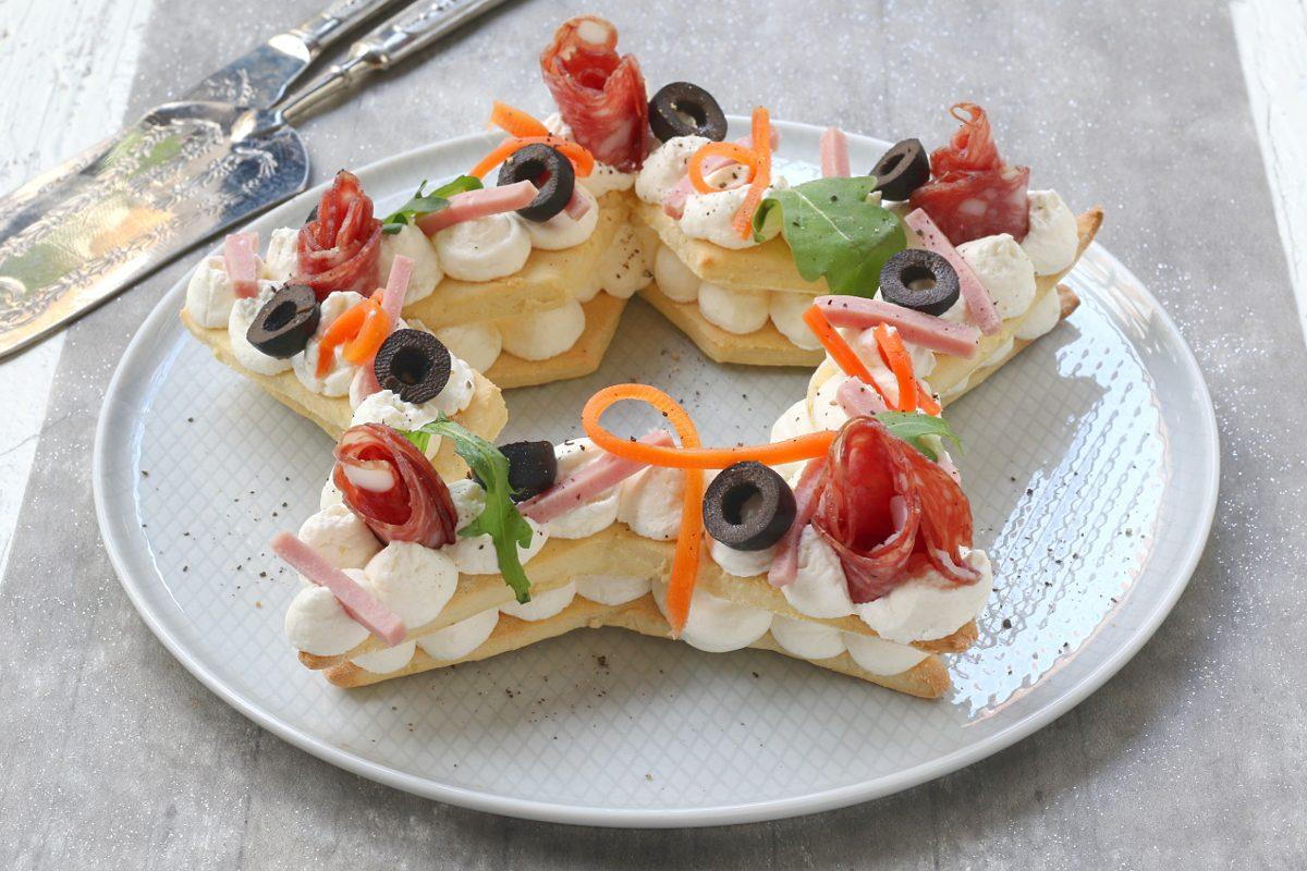 Cream tart salata di Capodanno: la ricetta dell'antipasto originale e d'effetto
